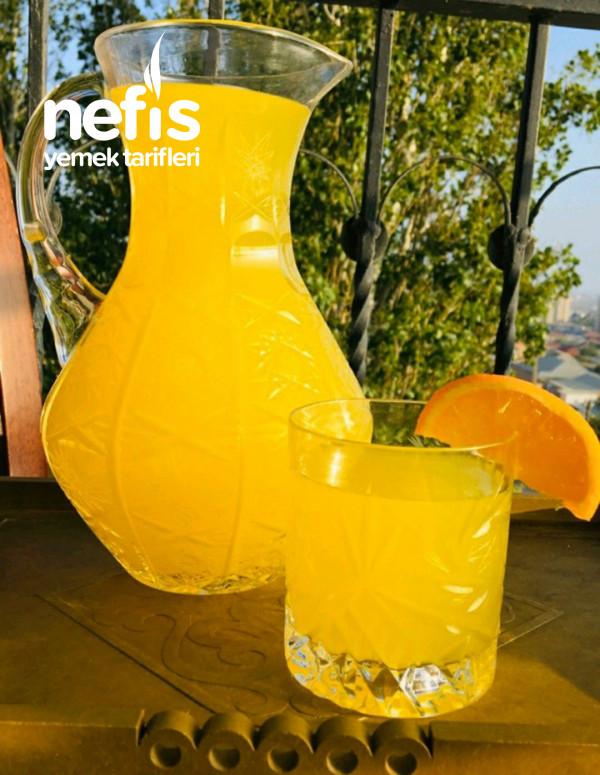 Limonlu Portakallı Serinletici Limonata