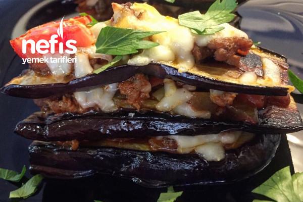 Patlıcan Lazanya (Videolu) Tarifi