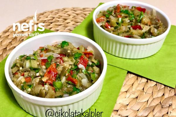 Patlıcan Salatası (Videolu) Tarifi