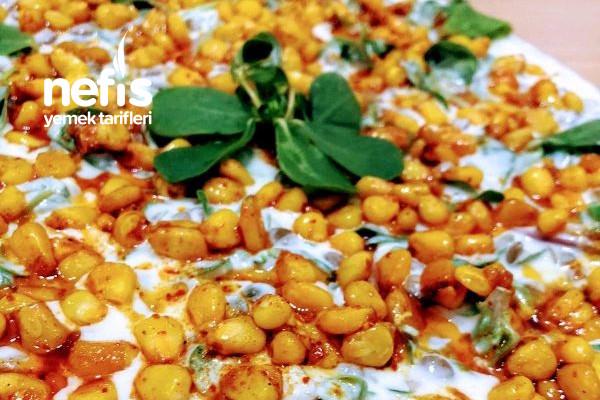 Yoğurtlu Mercimekli Semizotu Salatası Tarifi
