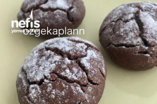 Çikolatalı Pudingli Kurabiye Tarifi