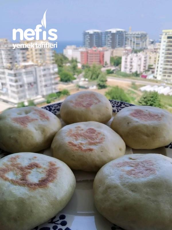 Kahvaltılık Puffy Ekmek Bazlama