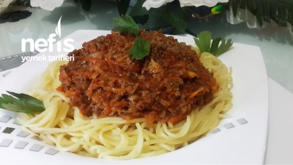 Ustasından Tüm Püf Noktalarıyla Bolonez Soslu Spagetti (Videolu)