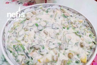 Yoğurtlu Semizotlu Salata Tarifi
