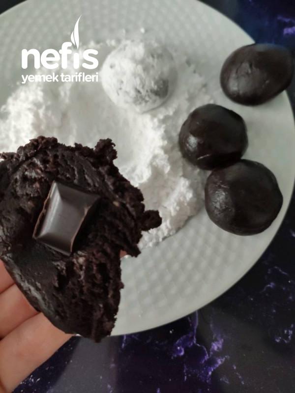 Çatlak Kurabiye (Bol Fındık Ve Çikolatalı)