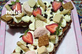 Doğum Günü Pastası (Harf Pasta) Tarifi