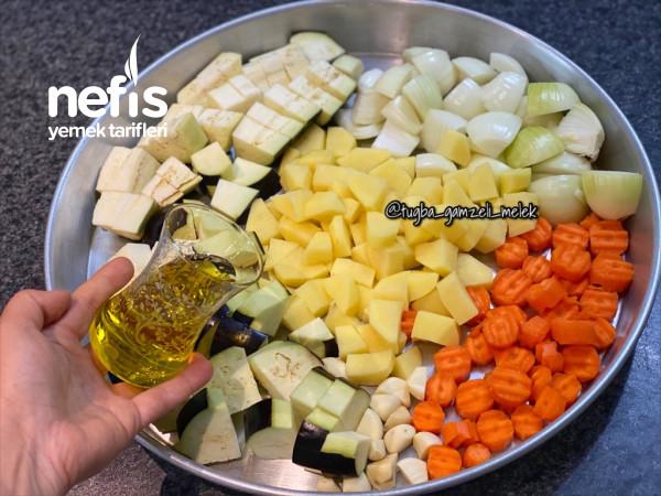 Enfes Tadı Ve Pratikliği İle Fırında Sebzeli Misket Köfte Favoriniz Olacak