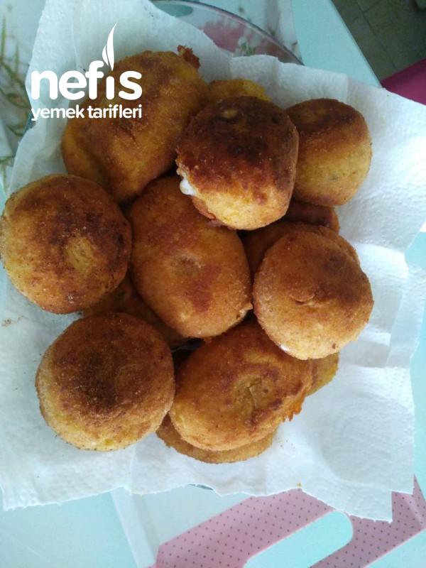 Leziz Kaşarlı Patates Topları
