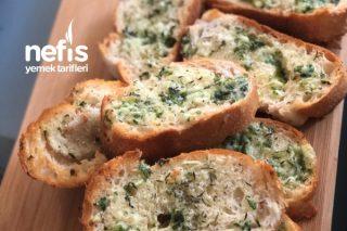Pratik Sarımsaklı Ekmek Tarifi