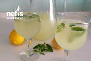 3 Tanecik Limonla Buz Gibi Limonata Tarifi