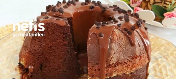 Bol Sütlü Çikolatalı Islak Kek