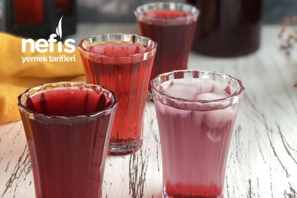 Hibiskus Şerbeti/Çayı