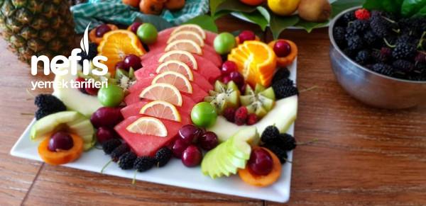 MEYVE ŞÖLENİ..Meyve Tabağı Nasıl Hazırlanır