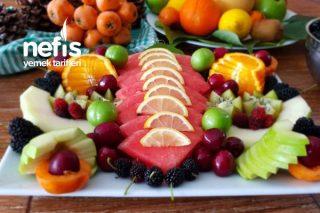 MEYVE ŞÖLENİ..Meyve Tabağı Nasıl Hazırlanır (Videolu) Tarifi