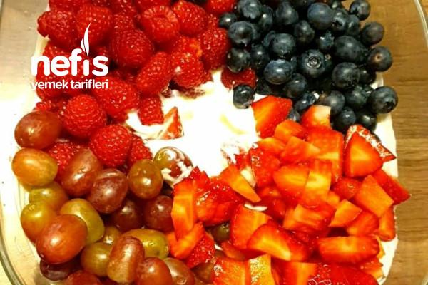 Yoğurtlu Yaz Meyvesi