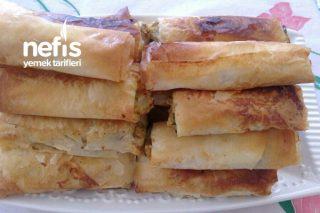 Baklavalık Yufkadan Patatesli Mercimekli Börek Tarifi