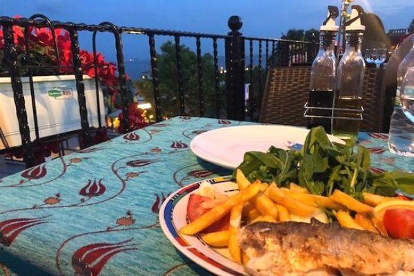 sultanahmet ottoman fish terrace house