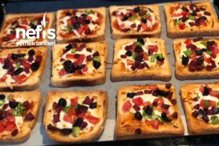 Kahvaltılık Pizza Ekmek Tarifi