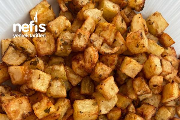 Kekikli Küp Patates Kızartması (Bayılacaksınız ) Tarifi