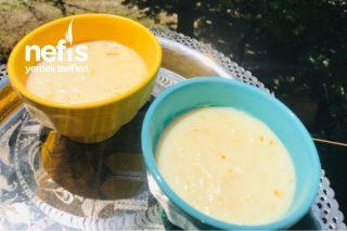 Portakallı Sütlaç Denemeyen Kalmasın Tarifi