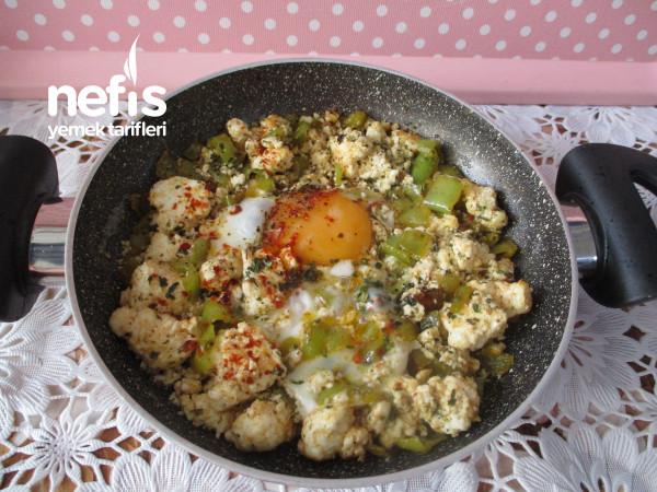 Tereyağlı Biberli Lorlu Yumurta
