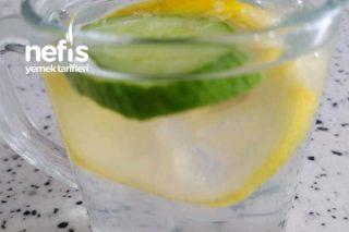 Limonlu Salatalıklı Su (Zayıflamaya Yardımcı) Tarifi