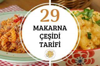 Makarna Çeşitleri: En Değişik 29 Tarif Tarifi