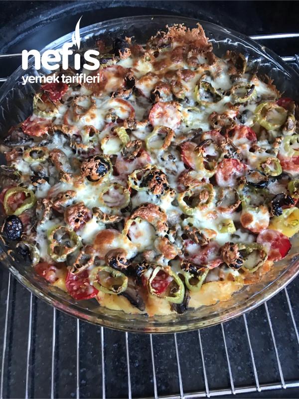 Patates Tabanlı Pizza