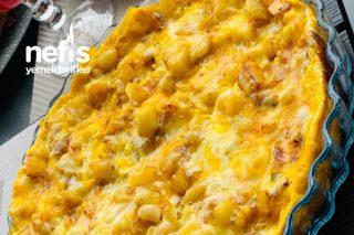 Yumurtalı Kaşarlı Patates Tarifi