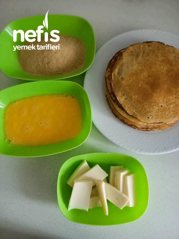 Kübra'nin Krep Böreği Tarifi