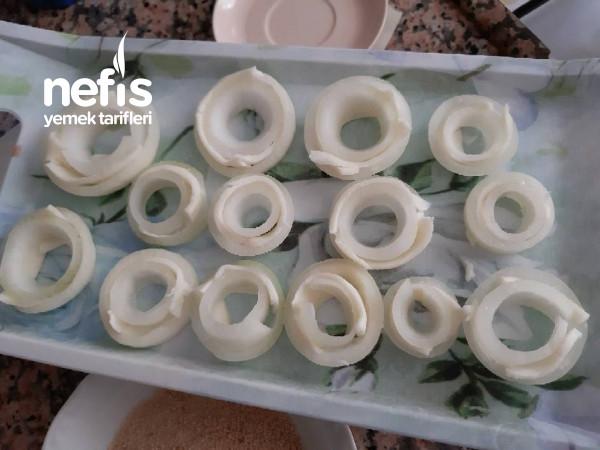 Peynirli Çıtır Soğan Halkası ((hazırından bile daha çıtır