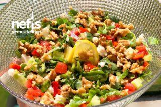 Cevizli, Peynirli Semizotu Salatası Tarifi