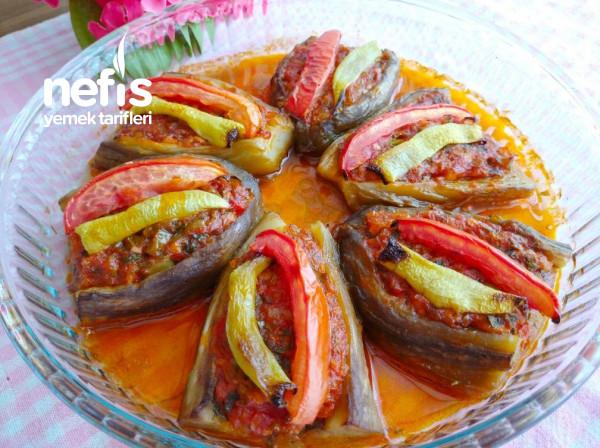 Pratik Zeytinyağlı Köz Patlıcanlı İmam Bayıldı