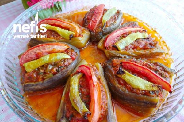 Pratik Zeytinyağlı Köz Patlıcanlı İmam Bayıldı(Videolu) Tarifi
