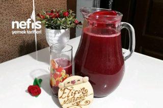 Kırmızılar Aşkına Böğürtlenli Meyve Suyu Tarifi