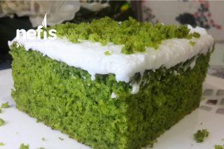 Kıvamı Kusursuz Krem Şantili Ispanaklı Kek (Videolu) Tarifi
