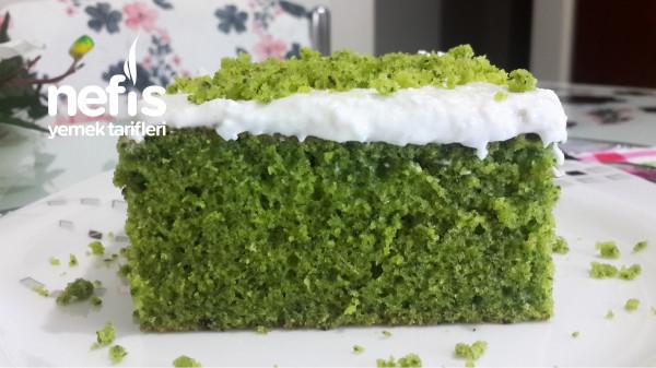 Kıvamı Kusursuz Krem Şantili Ispanaklı Kek (Videolu)