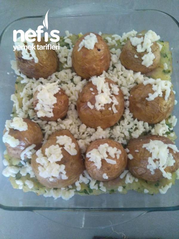 Patates Püreli Sürpriz Köfte