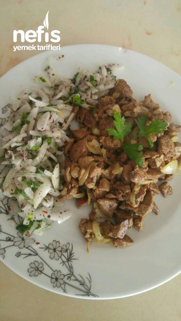 Tavuk Cigerim(Piyaz Soğanlı)