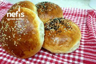 Yumuşacık Dev Hamburger Ekmeği Tarifi