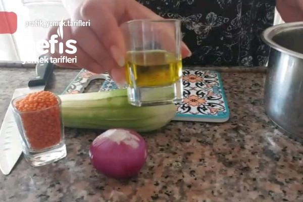 3 Malzeme İle 30 Kalorilik Detoks Çorba