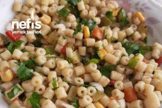Makarna Salatası (Yoğurtsuz) Tarifi