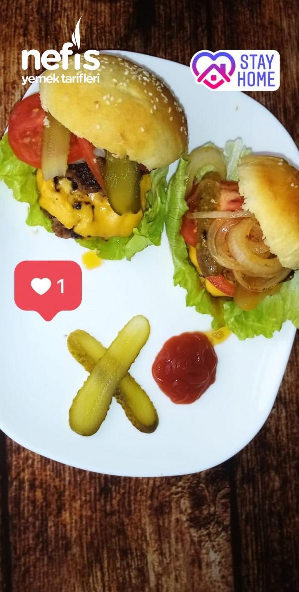 Puf Puf Yumuşacık Hamburger Ekmeği