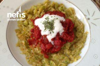 Sağlıklı Kabak Salatası Tarifi