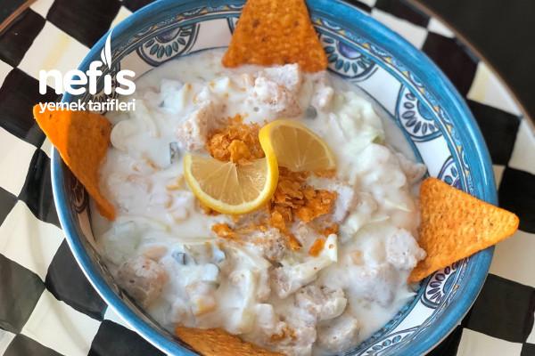 Nefis Nugget Salata Tarifi