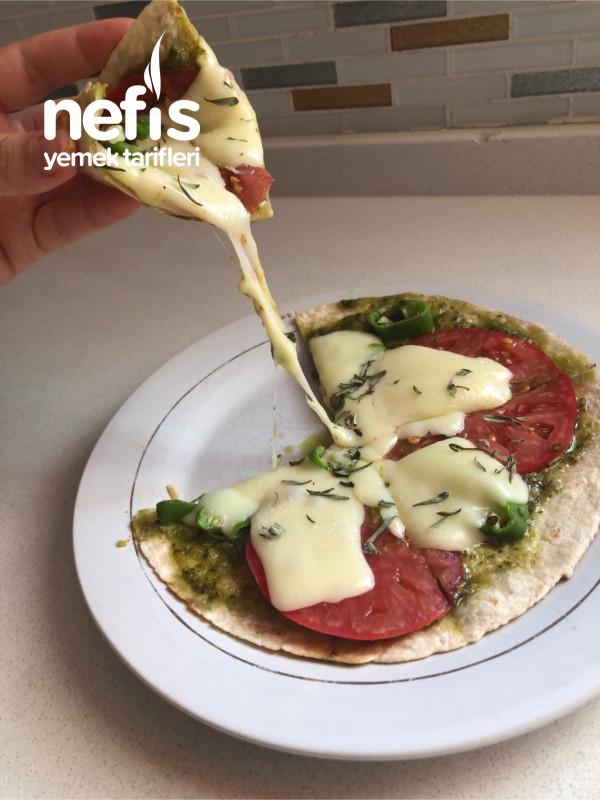 Tavada Fit Pizza Margherita (5dk Da)