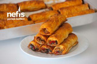 Nefis Farklı Sosuyla Patlıcanlı Börek Tarifi