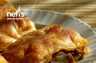 Kıymalı Patlıcanlı Arnavut Böreği Tarifi