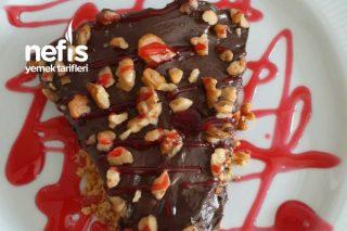 Bol Çikolatalı Efsane Pişmeyen  Cheesecake Tarifi