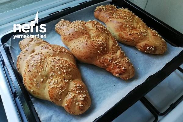 Paskalya Çöreği (Pastane Orijinal Tarif) Tarifi
